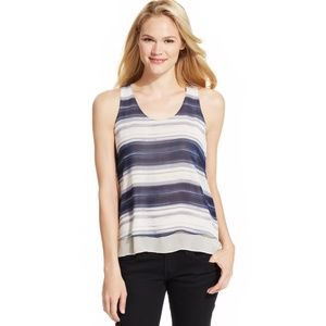 Calvin Klein | Striped Layered Tank M